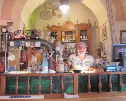 Gianni Diletta dall'antiquario ristorante lecce Katia Marie