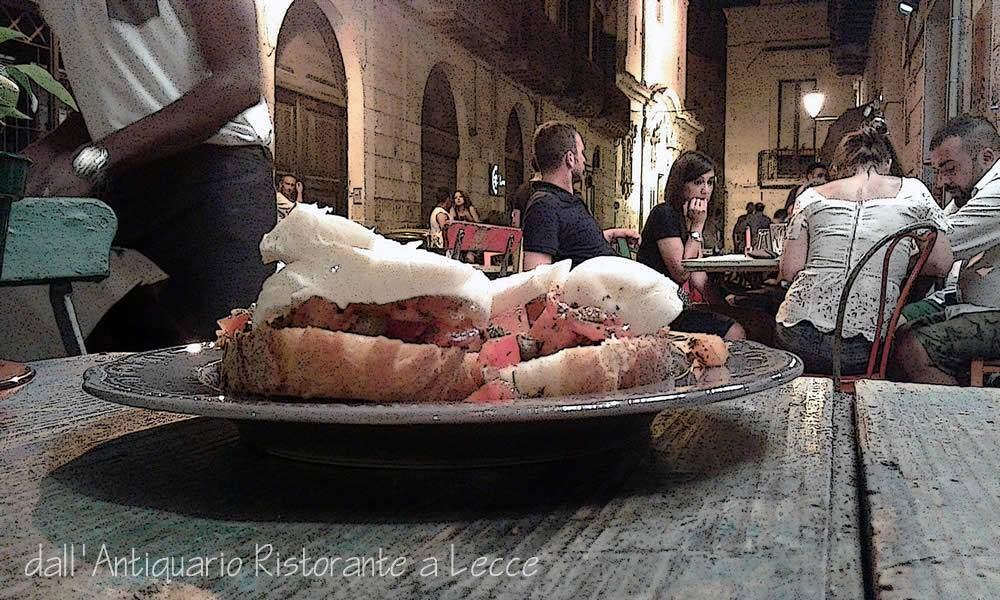 dall'Antiquario ristorante e amici a gogo Lecce