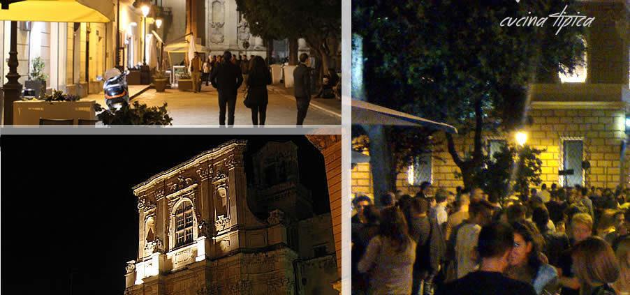 dall'Antiquario piazzetta Santa Chiara a lecce ... Tanta Bella Gente La Movida